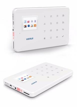Комплект беспроводной GSM сигнализации Kerui G18 с WI- FI IP к...