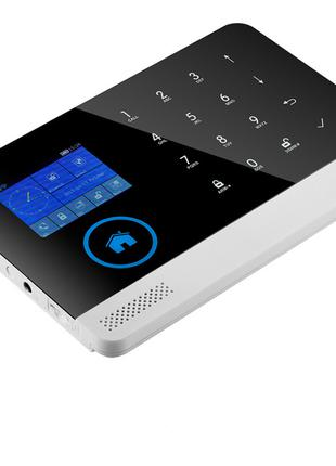 GSM-сигнализация RFID JYX-W-G600 WIFI для дома сенсорная с дат...