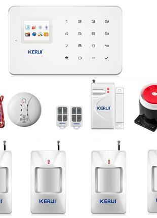 GSM сигнализация Kerui G18 для 4-х комнатной квартиры