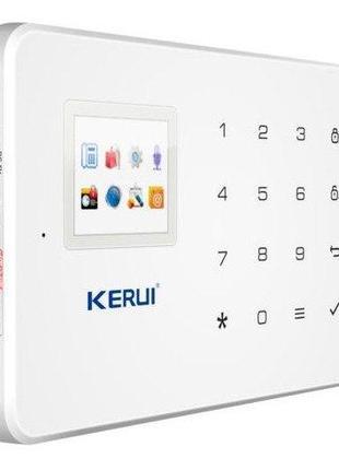 Сигнализация GSM KERUI W18 с Wi-Fi IP камерой для 4-х комнатно...