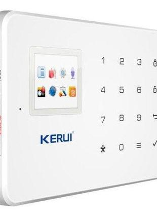 GSM сигнализация KERUI G18 + уличная IP WI-FI камера