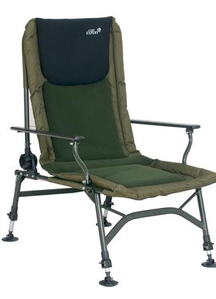 Кресло Energofish Carp Expert с подлокотниками и регулировкой ...