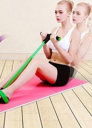Спортивный Фитнес тренажер для мышц рук ног живота Pull Reduce...