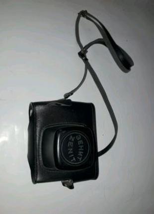 Кожаный Футляр для фотоаппарата Зенит