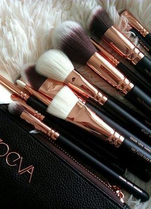 Набор кистей кисточек для макияжа zoeva rose golden complete s...