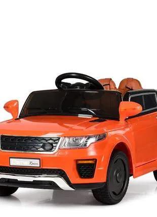 Детский электромобиль «Land Rover» M 5396 EBLR-7, оранжевый