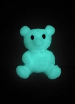 Магнитик Мишка(светится в темноте).