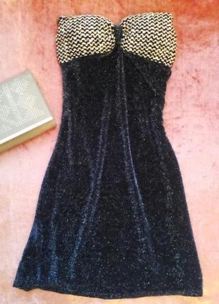 Платье - любимый наряд дам, с люрексовой нитью