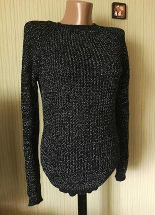 Шикарный свитер с люрексом
