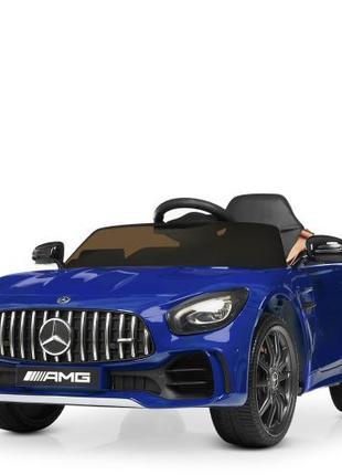 Детский электромобиль Mercedes M 4182 EBLRS-4, автопокраска, сини