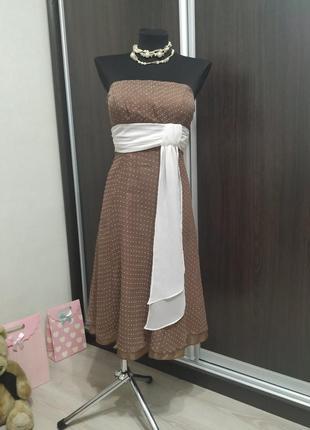 Милое коктейльное платье бренд ariella