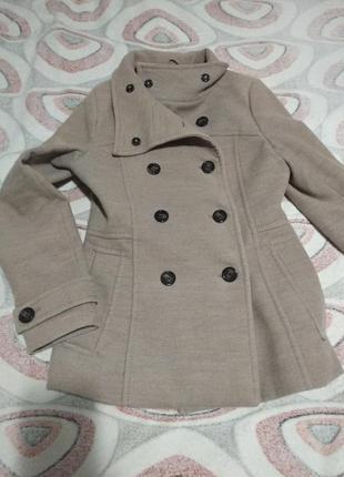 Пальто женское демисезонное h & m