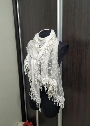Красивейший палантин, шарф