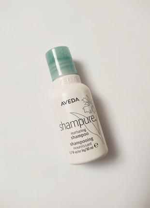 Питательный шампунь для волос aveda shampure nurturing shampoo