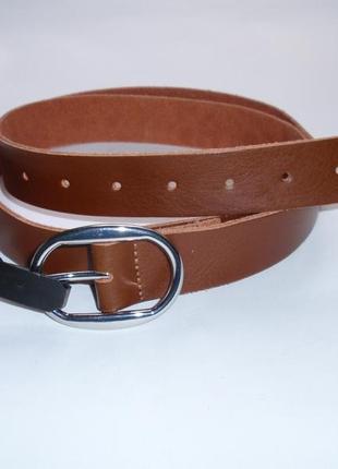 Кожаный женский ремень бренд accessoires c&a германия р. l