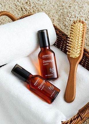 Эссенция для поврежденных волос с маслом арганы
