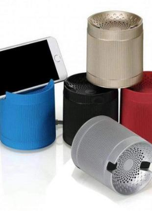 Портативная колонка Bluetooth XQ3 mini с подставкой для телефона