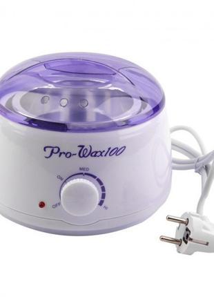 Воскоплав баночный для депиляции PRO-WAX 100 для горячего воск...