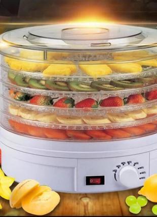 Сушилка электрическая для фруктов и овощей Rainberg RB-912 800 Вт
