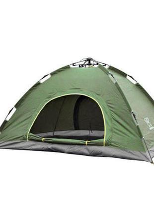 Палатка туристическая для отдыха 2-х местная зеленая