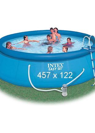 Надувной бассейн Intex 28168