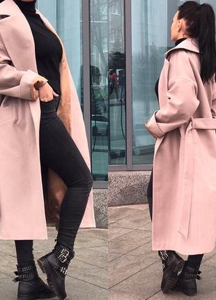 Пальто женское кашемир евро зима