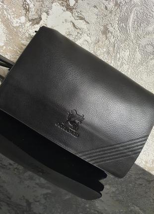 Модный мужской клатч - портмоне - кошелёк - барсетка