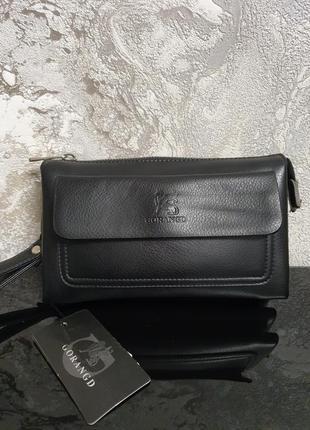 Модный мужской клатч - портмоне - кошелёк- барсетка