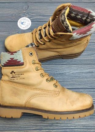 Кожаные ботинки panama jack оригинал!
