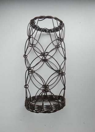 Плетеный плафон абажур для люстры