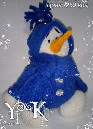 Снеговик. Подарок к Новому Году
