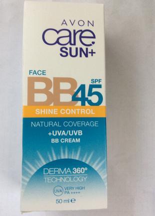 Spf 45 солнцезащитный крем для лица Avon