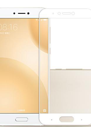 Full Cover защитное стекло для Xiaomi Mi5c - White