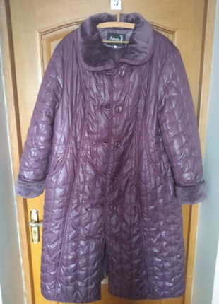 Пальто стьобане