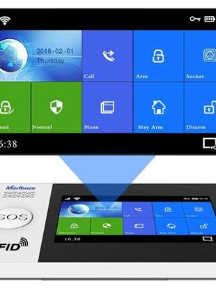 Marlboze PG-103 PG-107 новинка проводные 4 Android iOS сигнали...
