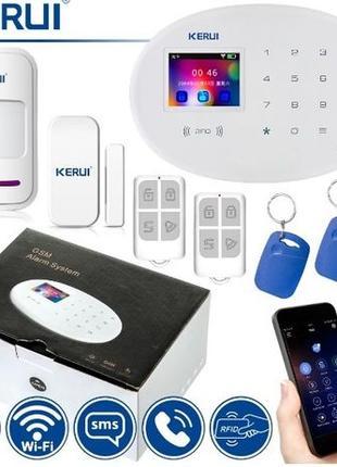 Kerui W20 GSM Wi-Fi сигнализация Android iOS русское меню в на...