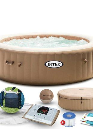 Надувной джакузи - SPA бассейн «Intex» 28428 PureSpa™ (216-71 ...
