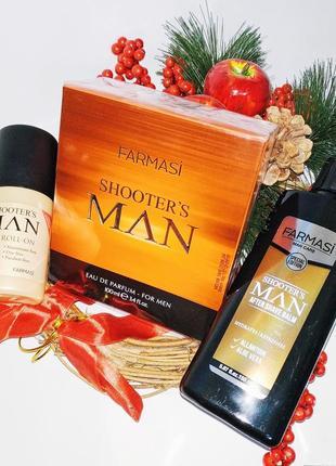 🔥набор подарок для мужчин🔥 shooter's man farmasi paco rabanne ...