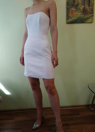 Платье белое свадебное vesna