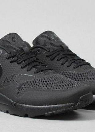Кроссовки nike air max 1 ultra essential (black / black - blac...