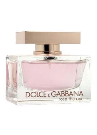 Dolce & Gabbana Rose The One Парфюмированная вода EDP 75ml (Дольч