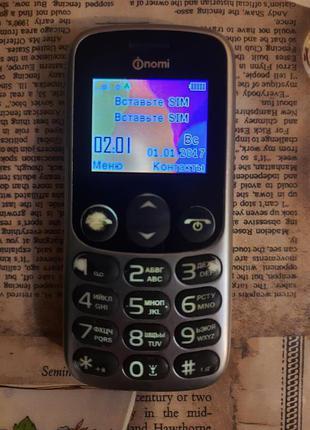 Мобильный телефон Nomi i177 Metal Grey