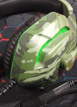 Игровые наушники KOMC G312 с подсветкой