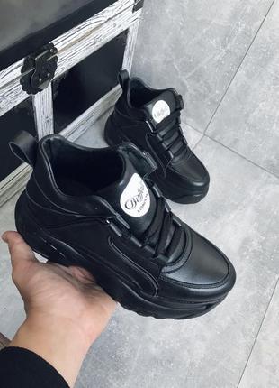 Женские демисезонные ботинки {натуральная кожа}