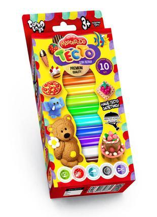 Детское тесто для лепки Master Do 7550DT, 10 цветов