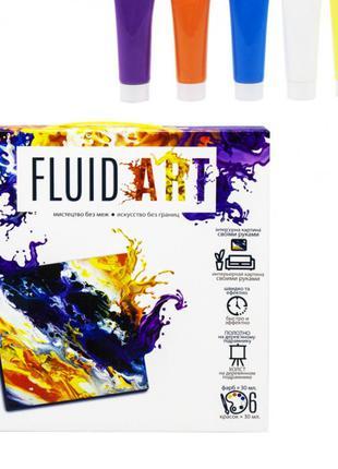"""Набор креативного творчества """"Fluid ART"""" FA-01-01-2-3-4-5, 5 в..."""