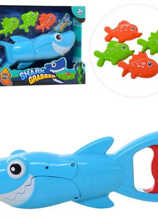 Игровой набор Рыбалка акула 33898, 4 рыбки в наборе