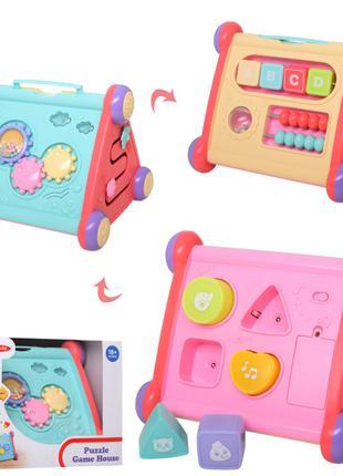 Детская развивающая логика-игра 01514S с лабиринтом и звуковым...