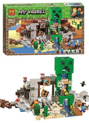 """Конструктор типа лего Minecraft """"Шахта Крипера"""" BELA 11363, 85..."""