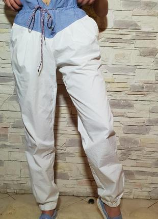 Летние брюки с высокой посадкой